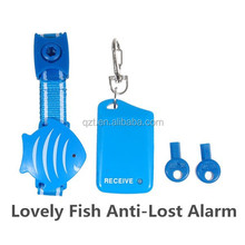 Lovely and Light Anti-lost Personal Security Alarm for Child/Pet Locator with Fish Style