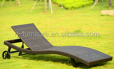 Outdoor Chaise Lounge Day Bed Sun Lounger Lazy Boy Chair Deck Sling Chair  Recliner