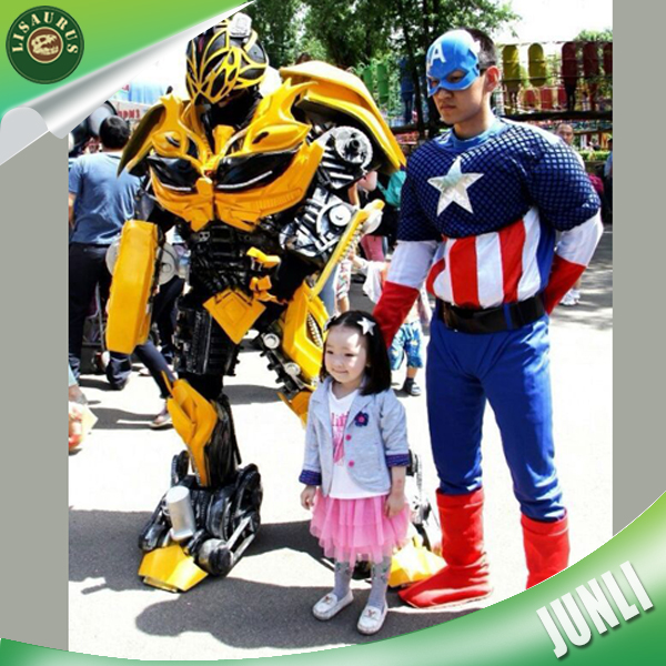 Lisaurus-R748 kids party bumble bee cosplay costume homemade