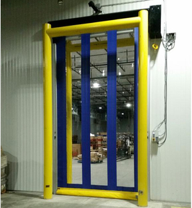 Photo Cell Security Fast PVC Roller Shutter Doors