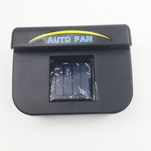 Mini fan for car solar power energy auto car cooling ventilation fan air vent