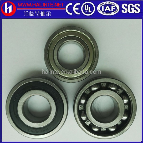 Use deep groove ball bearing 61807 gas plate