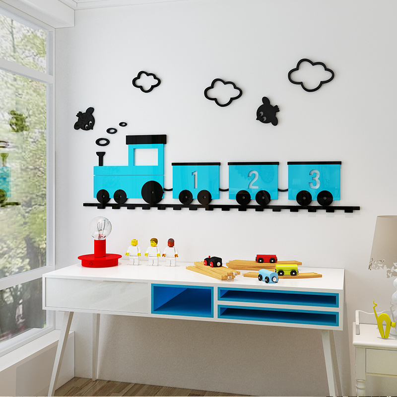 Cartoon Removable Wall Stickers Home Kids Bedroom Daily Waterproof Decals Decor