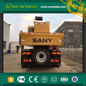 SANY STC750 75 Tons Truck Cranes Excellent Working Conditions