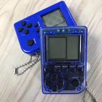 2019 kids handheld game with key chain brick game 9999 games are in 1 mini display