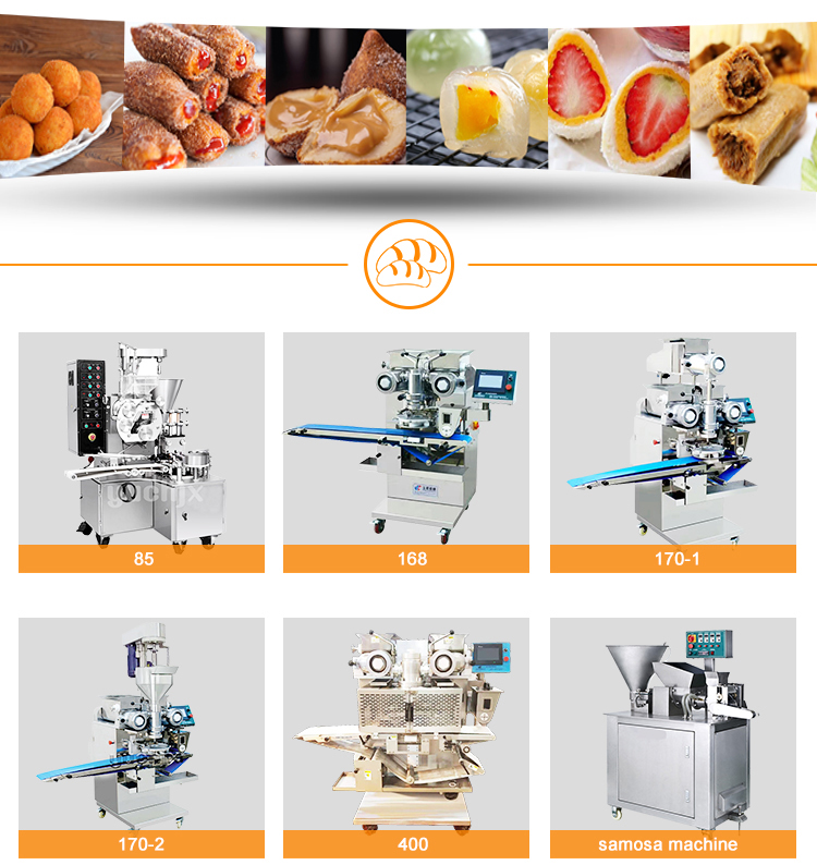 Automatic Date Ball Mochi Flour coating Machine