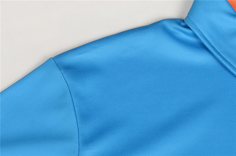 Antibacterial anti-pilling polyester pique mens breathable polo shirt