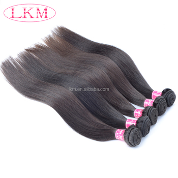 Wholesale Nice Looking Best Quality Virgin Peruvian Human Natural Hair Weave 100% Silky Straight 9A Peruvian Virgin Hair