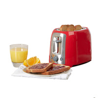850W 2 slices logo pop-up cordless bread toaster