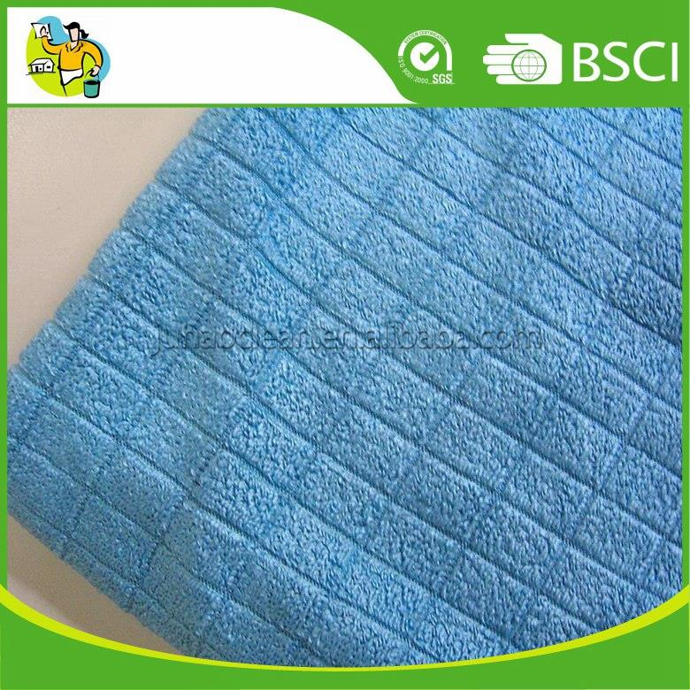 Best Material 80% Polyester 20% Polyamide Microfiber Weft Knitted Cloth Microfiber Rag with great service