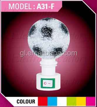 OEM GL-A11 moon shape EVA mini switch LED nightlight CE ROHS approved HOT SALE promotional gift items