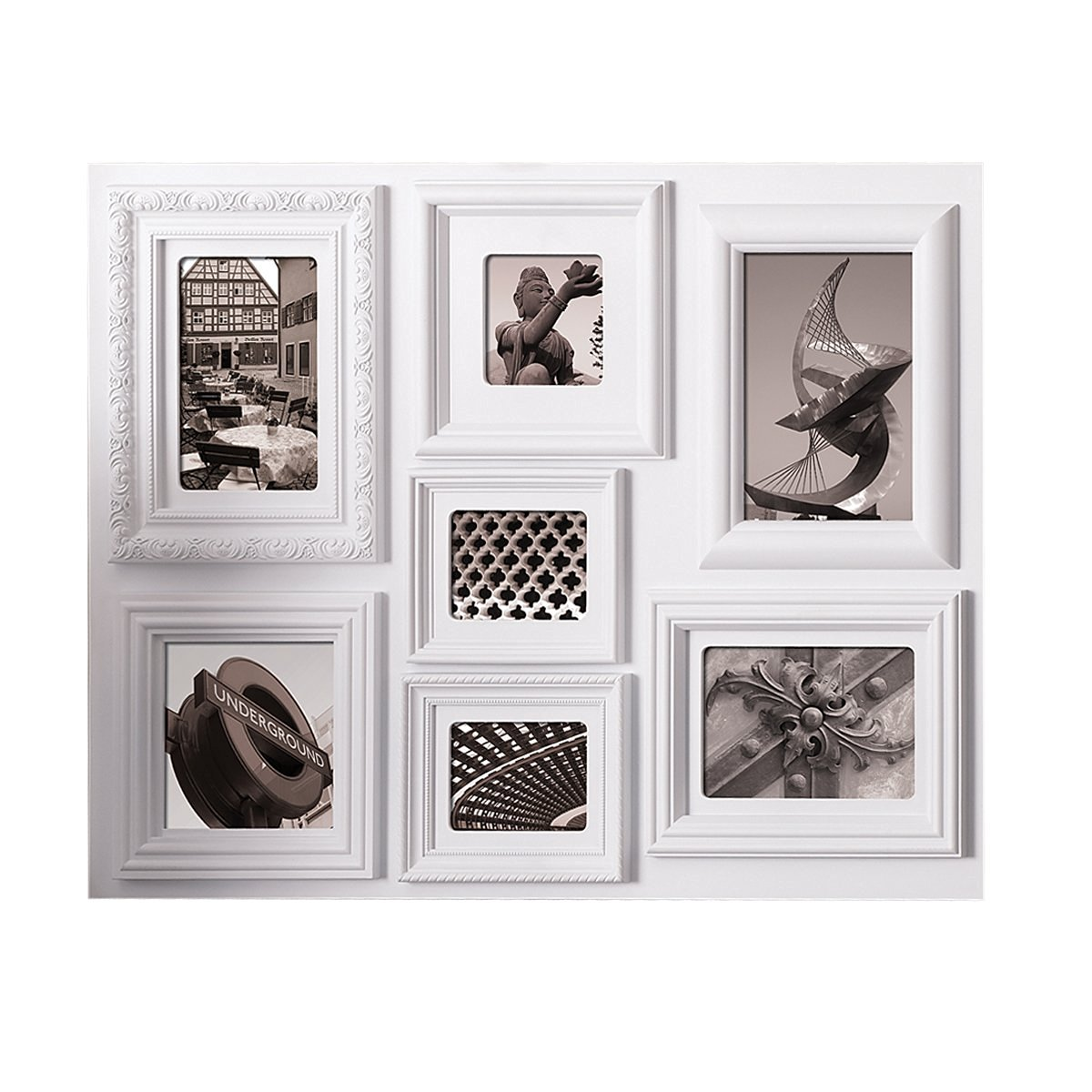 Buy Nexxt Fuse Collage Picture Frame 18 By 24 Inch 7 Opening