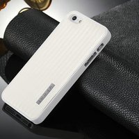 for iphone 5 pu leather case + pc cover shockproof case
