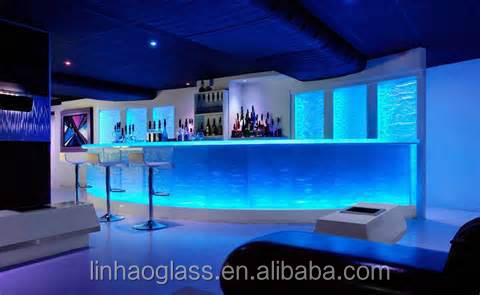 1 Inch Glass Bar Countertops For Sale,Glass Countertop With Led ...