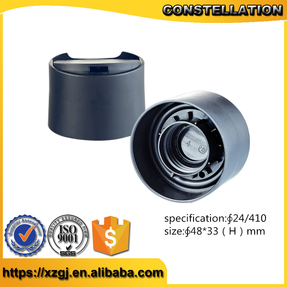 24/410 plastic double walled disc top cap for sale