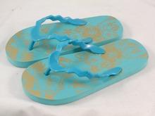 Teen feet in flip flops