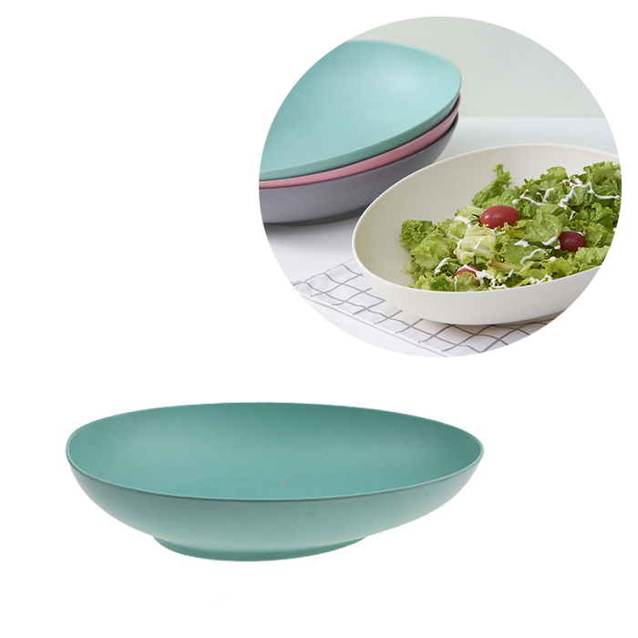 odellware new ideas 2019 eco friendly product bol melamine oval bamboo bowl