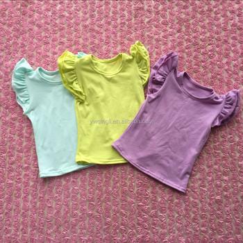 0abb42d43 Simple Design Summer Teen Girl Sleeveless T-shirt Solid Color Cotton Baby  Tank