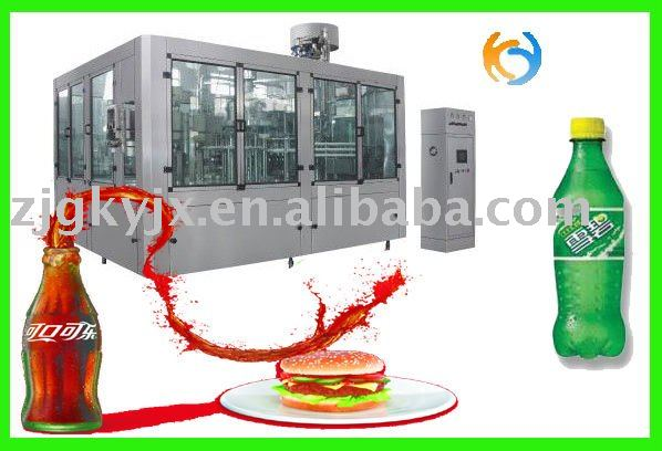 automatic carbonated beverage filling machine for Coca-Cola soda water