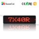 PH 7.62 740 Series RG Mini LED Display Light Message Bar And Sign Message Display Sign Board