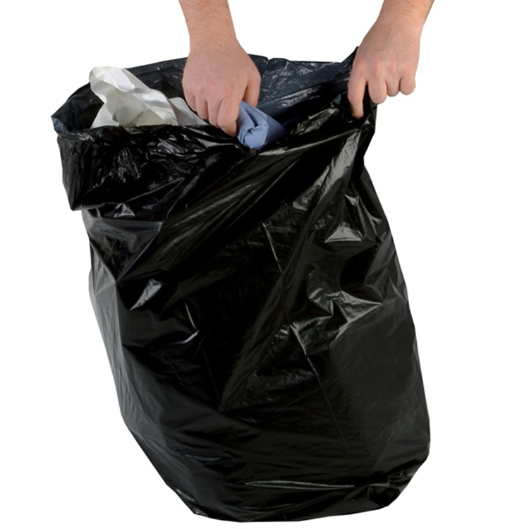Black Color Garden Refuse Sack-Garbage Bags for Garden Cleaning Use