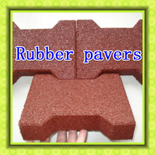 2017 supplier of cheapest price rubber paving block rubber paver block