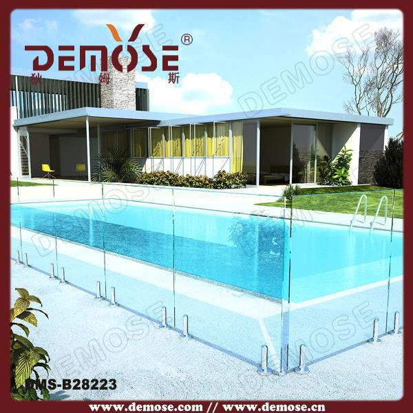 Prefabricated Glass Swimming Pool Handrail Decorative Buy Glass Swimming Pool Handrail