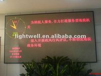 2012 durable and reliable indoor advertising digit programmable electronic board p4 dual color