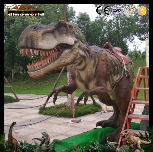 DW-0947 Riding Dinosaur Electric Animal Ride On Animated Dinosaur