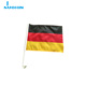 NX wholesale 20*30cm 100D polyester german car window flag