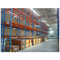 Heavy Duty 4.5T per layer metal warehouse storage pallet racks for industrial storage
