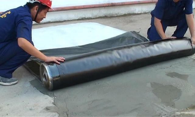 Modified Bitumen Membrane : Underground sbs modified bitumen waterproofing self