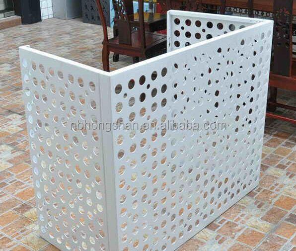 Decorative Outdoor Aluminum Air Conditioner Covers Buy Outdoor Air Conditioner Cover