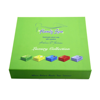 Latest Paperboard box luxury design skin care packaging