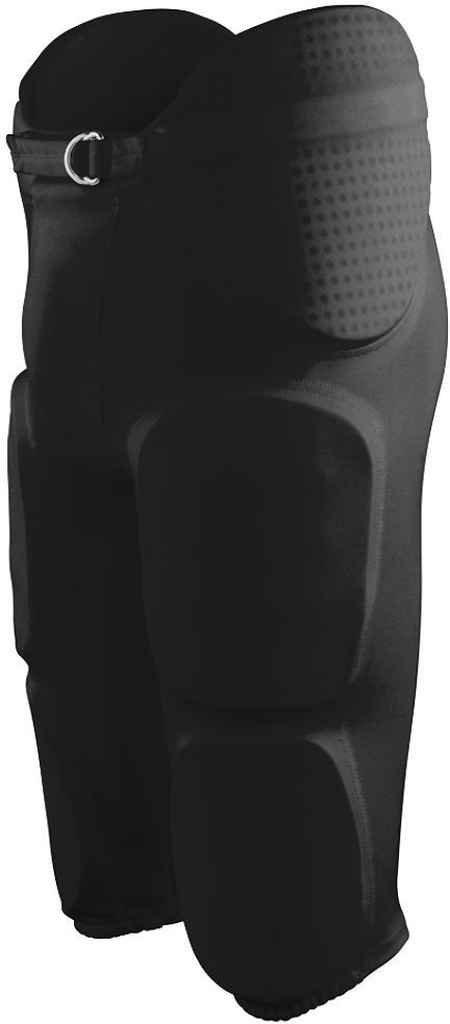 Augusta Sportswear BOYS' GRIDIRON INTEGRATED FOOTBALL PANT XS Black