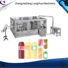 2017 Newest humanized design small fruit juice bottle filling machine/ juice processing equipment