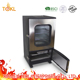 Commercial Smoke Free Vertical SS Electric Fish Chicken BBQ Grill Net Machine Food Meat Smoker in Iron Window Grill Design with