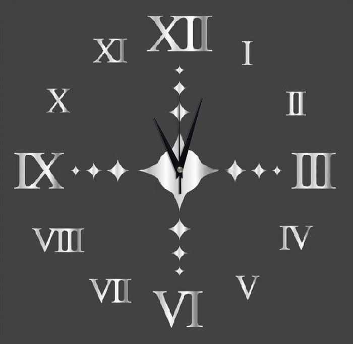 Preciser 3d Diy Roman Numeral Decorative Giant Big Acrylic
