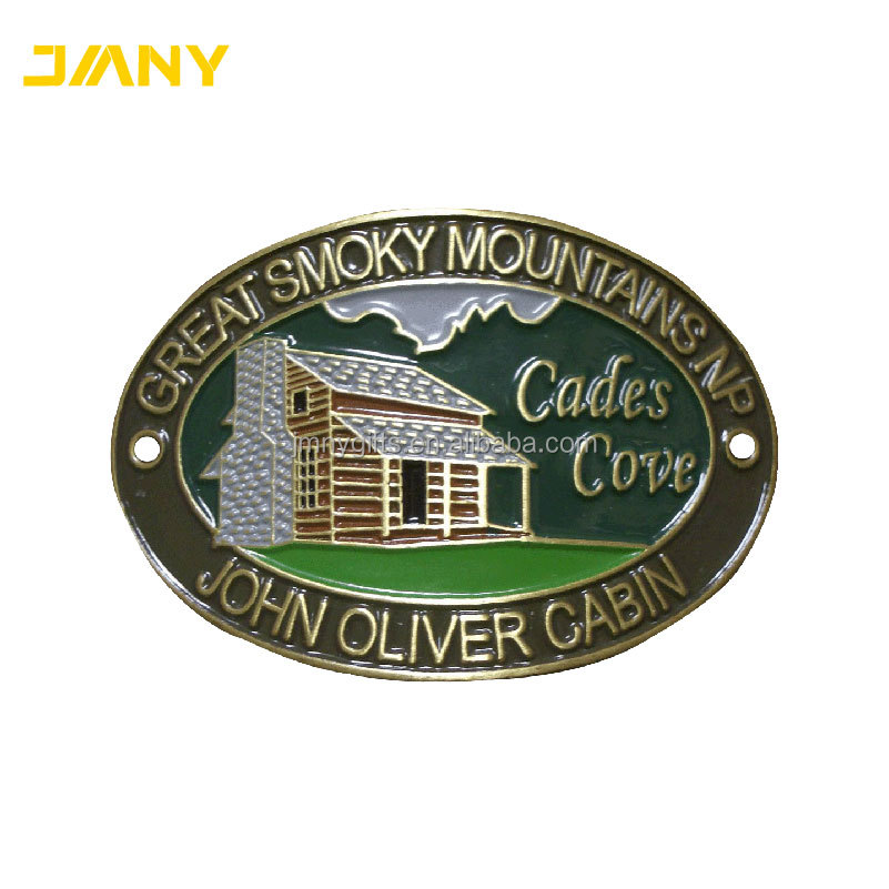 Custom Wholesale Cades Cove Loop walking or Hiking Stick Medallion