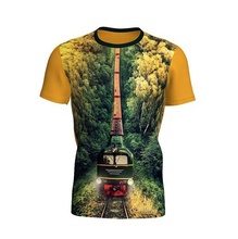 Professionale sublimazione t shirt produttori, all-over di stampa a sublimazione t-shirt