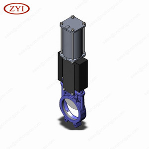 Competive price wholesale wafer knife gate valve