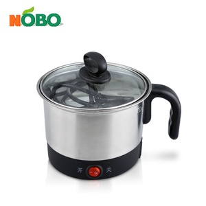 Economic stainless steel mini size cooking pot electric mini hot pot