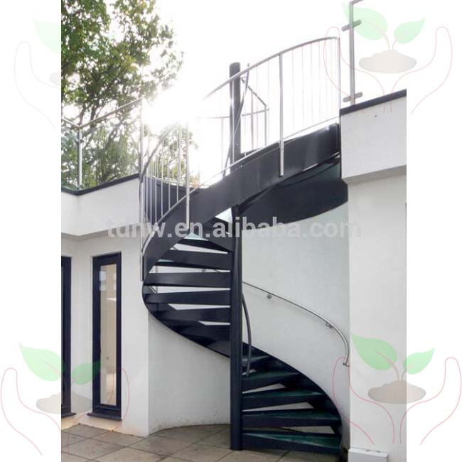 Attractive External Used Metal Spiral Staircase With Glass Tread And Stainless  Railing/hot Galvanized Spiral Stair   Buy Metal Spiral Staircase,Used Spiral  Staircase ...