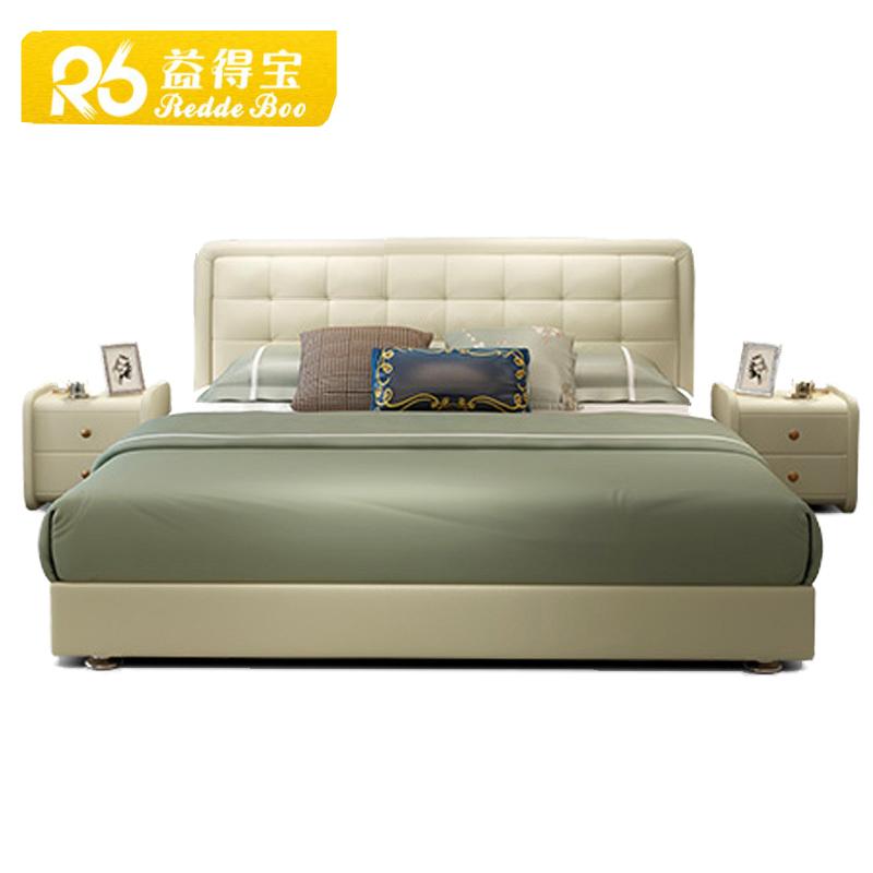新しい古典的なベッドルーム家具ホテルベッドデザイナー家具