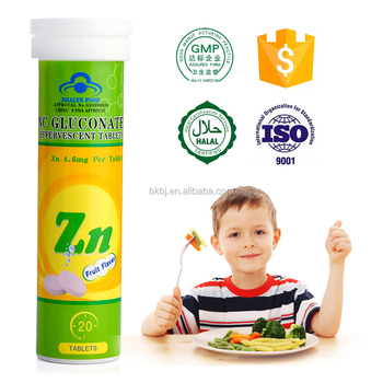 Zinc Effervescent Tablet Helps Child Have A Good Appetite And Eat