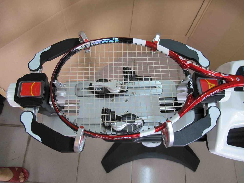 tennis string machine