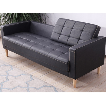 Wooden Sofa Set Furniture Black Modern Office Leather Reception Sofa for  Project, View reception sofa, AODA Product Details from Foshan Aoda  Furniture ...