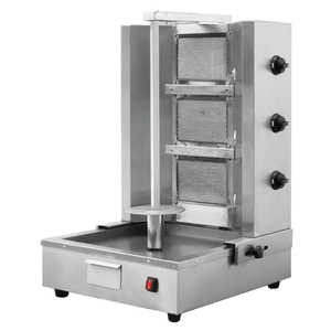 (BN-RG04) Vertical Broiler Gas Gyro Shawarma Machine 4 Burners (adjustable distance) in China