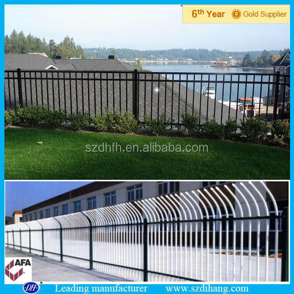Tubular de acero cercas, puertas y cercas acero diseño, cercas de ...