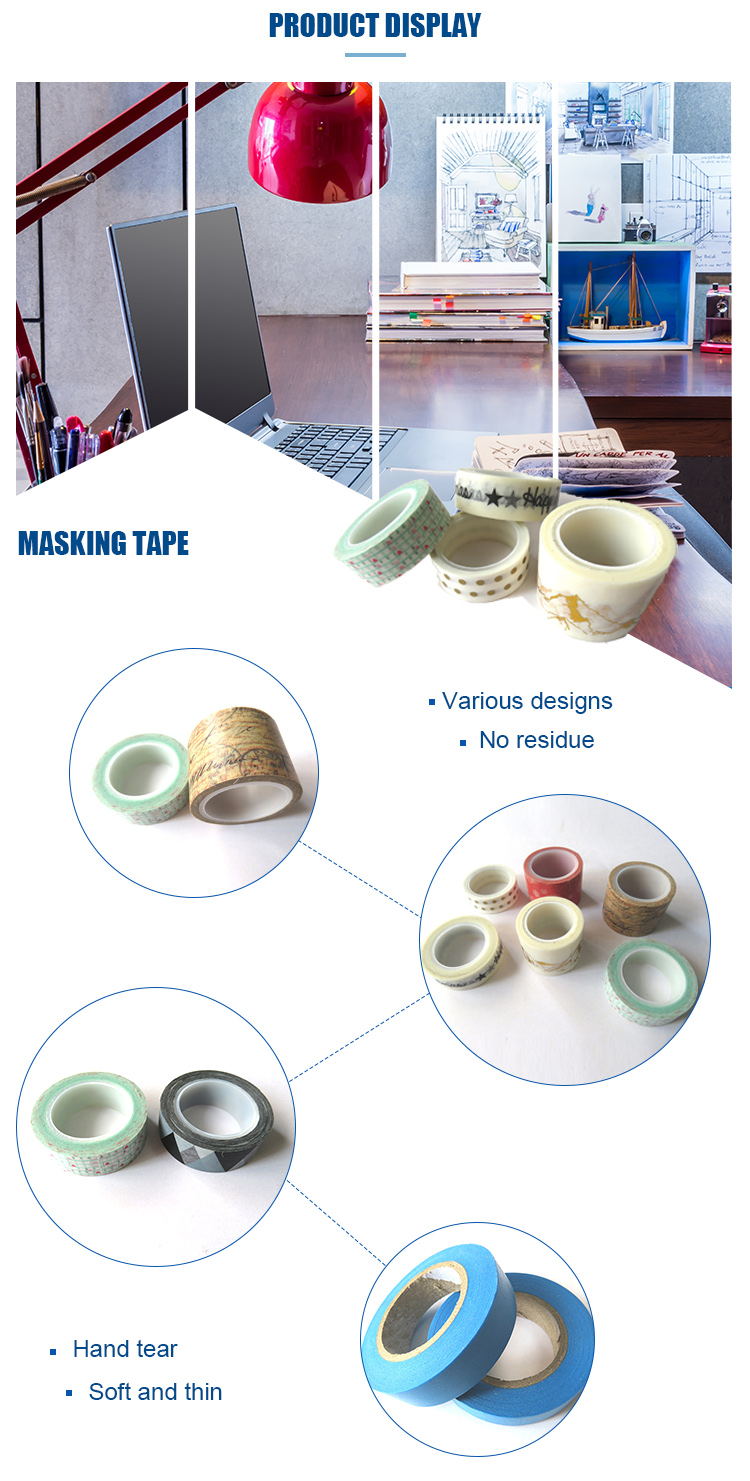 Cheap Heat Resistant Masking Tape For Washi